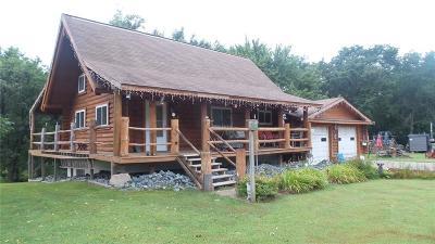 Jackson County, Clark County, Trempealeau County, Buffalo County, Monroe County, Chippewa County, Eau Claire County Single Family Home For Sale: N50859 Thompson Road