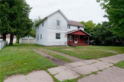 Rice Lake Single Family Home For Sale: 311 W Marshall Street