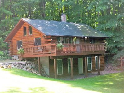 Rice Lake WI Single Family Home For Sale: $198,000