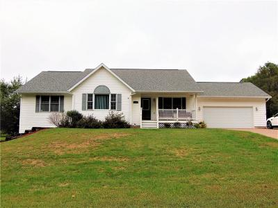 Osseo Single Family Home For Sale: 51422 Whitetail Road