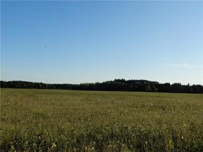 Jackson County, Clark County, Trempealeau County, Buffalo County, Monroe County, Chippewa County, Eau Claire County Residential Lots & Land For Sale: 24+ Acres Hwy K