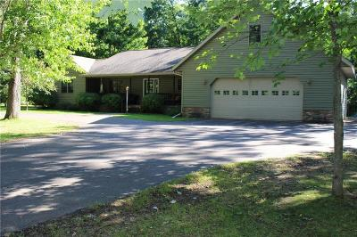 Spooner Single Family Home For Sale: N5570 Cheswick Drive