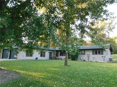 Menomonie Single Family Home For Sale: E2105 Hwy 29