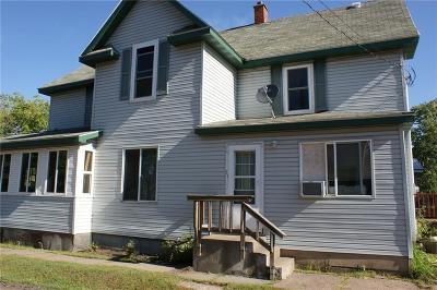 Spooner Multi Family Home For Sale: 914 N River Street #1&2