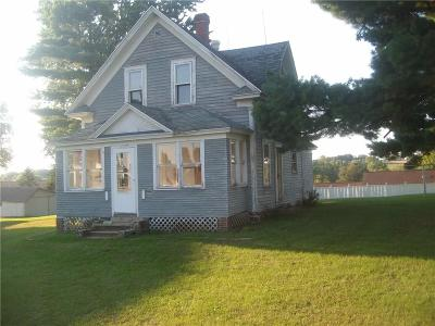 Osseo WI Single Family Home For Sale: $27,500