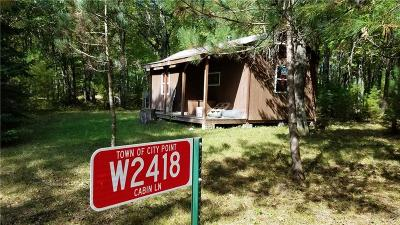 Jackson County Single Family Home For Sale: W2418 Cabin Lane