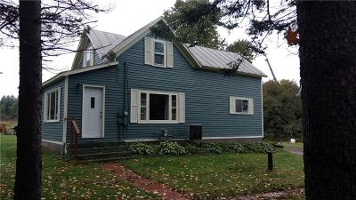 Barron County Single Family Home Active Under Contract: 599 10 1/2 Avenue