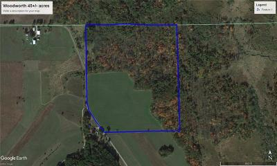 Jackson County, Clark County, Trempealeau County, Buffalo County, Monroe County, Chippewa County, Eau Claire County Residential Lots & Land For Sale: Amber Road
