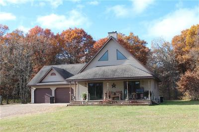 Grantsburg Single Family Home For Sale: 23097 W River Road
