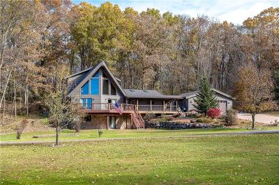 Black River Falls Single Family Home For Sale: W12473 County Rd C