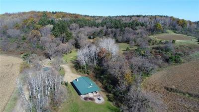 Jackson County, Clark County, Trempealeau County, Buffalo County, Monroe County, Chippewa County, Eau Claire County Residential Lots & Land For Sale: N38680 Dissmore Coulee Road