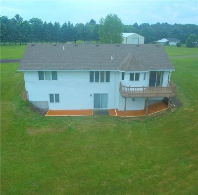 Chippewa Falls Single Family Home For Sale: 7827 County Highway K