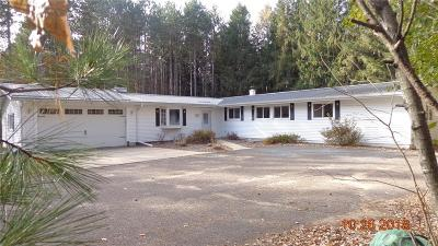 Chippewa Falls Single Family Home Active Offer: 5096 Hwy K