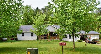 Jackson County Single Family Home For Sale: N8727 Joseph Road