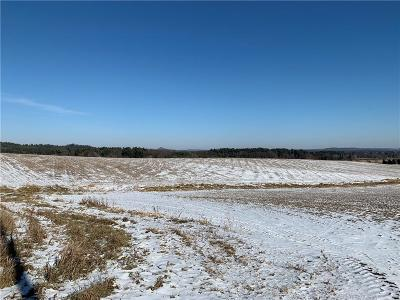 Jackson County, Clark County, Trempealeau County, Buffalo County, Monroe County, Chippewa County, Eau Claire County Residential Lots & Land For Sale: 55 Acres Water Tower Rd.