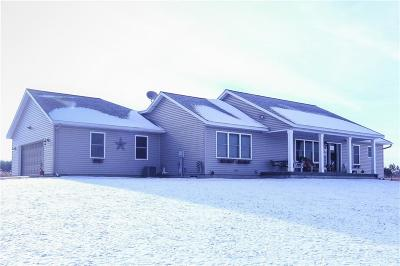 Spooner Single Family Home For Sale: W6905 Smoky Rd.