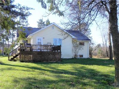 Siren WI Single Family Home For Sale: $129,000
