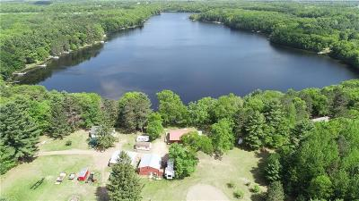 Webster Single Family Home For Sale: 6083 Pike Lake Rd