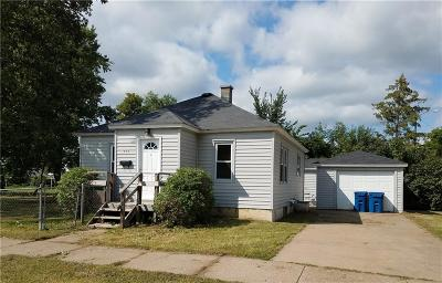 Rice Lake WI Single Family Home For Sale: $84,000