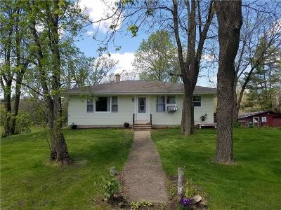 Black River Falls Single Family Home For Sale: W9770 Hwy O