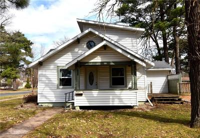 RICE LAKE Single Family Home For Sale: 835 Craite Avenue