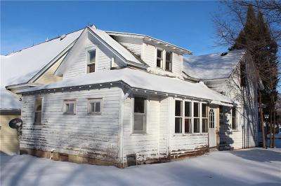 Grantsburg Single Family Home For Sale: 311 Pine Street