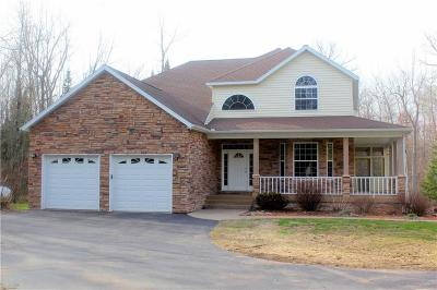 Single Family Home For Sale: W8778 Timber Trail