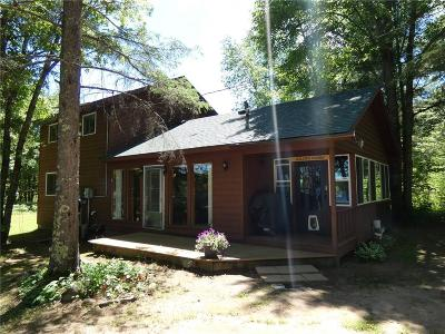 Single Family Home For Sale: 9598n Reed Lake Road