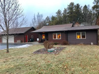 Chippewa Falls Single Family Home For Sale: 2633 N 110th Avenue