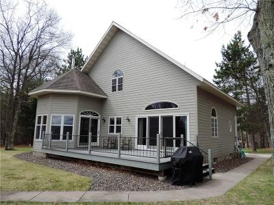 Trego WI Single Family Home For Sale: $449,900