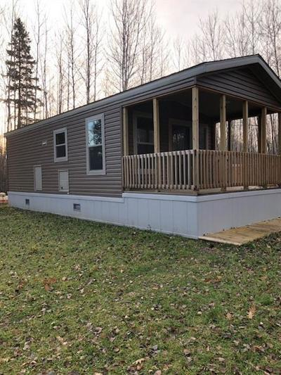 Cable WI Manufactured Home For Sale: $69,900