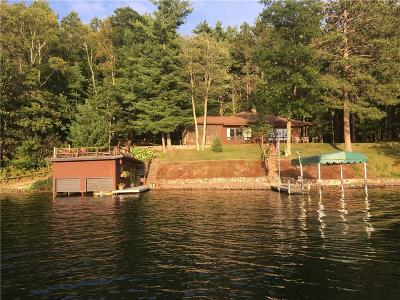Iron River WI Single Family Home For Sale: $625,000