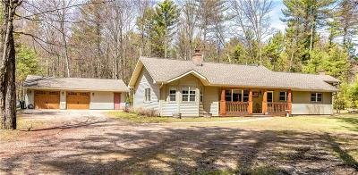 Jackson County, Clark County Single Family Home For Sale: W8254 County Highway J