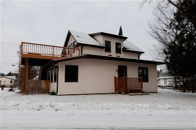 Rice Lake WI Single Family Home Active Offer: $114,900