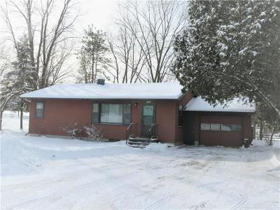 Whitehall Single Family Home For Sale: 40091 County Road W