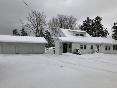 Chippewa Falls Single Family Home Active Under Contract: 18921 Hwy O
