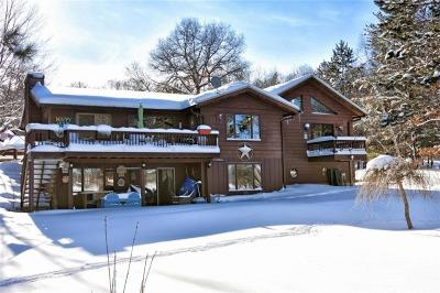 Single Family Home For Sale: W6062 Pair O Lakes Road