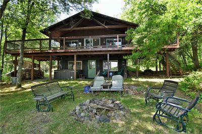 Trego WI Single Family Home For Sale: $465,000