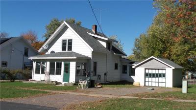 Alma Center WI Single Family Home For Sale: $89,900