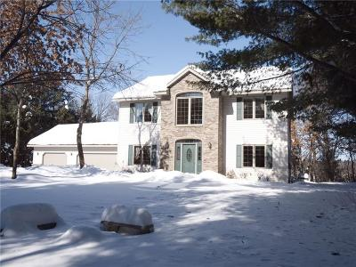 Chippewa Falls Single Family Home Active Under Contract: 7020 Hwy K