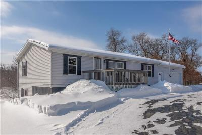 Osseo Single Family Home Active Under Contract: 14429 Hwy K