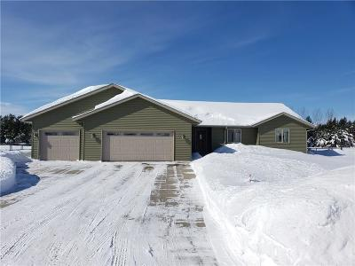 Chippewa Falls Single Family Home For Sale: 3948 112th Street
