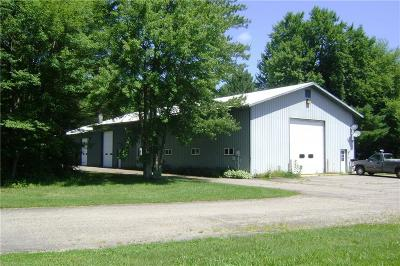 Jackson County, Clark County Farm For Sale: W492 And W494 County Rd. Hh