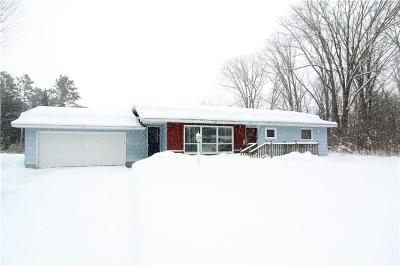 Rice Lake WI Single Family Home Active Under Contract: $144,700