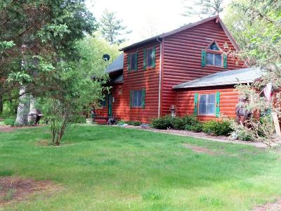 Black River Falls Single Family Home For Sale: W9315 Clearview Drive