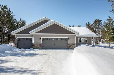 Chippewa Falls Single Family Home For Sale: 19025 N 61st Avenue