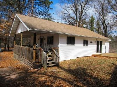 Spooner Single Family Home Active Under Contract: W7728 Dock Lake Road