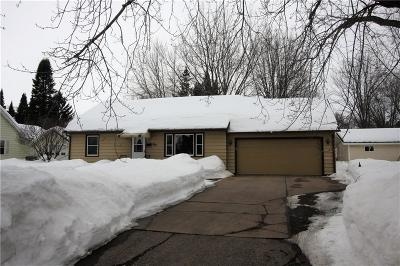 Chippewa Falls Single Family Home Active Under Contract: 410 Squires Street
