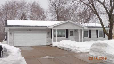 Eau Claire Single Family Home For Sale: 3044 Terry Lane