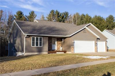 Eau Claire Single Family Home For Sale: 1350 Stephi Road
